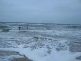 Купание в море зимой  2014 г на крещения